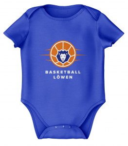 Baby Body | Basketball Löwen | royal blau