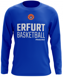 Long Sleeve T-Shirt | Basketball Löwen | royal blau
